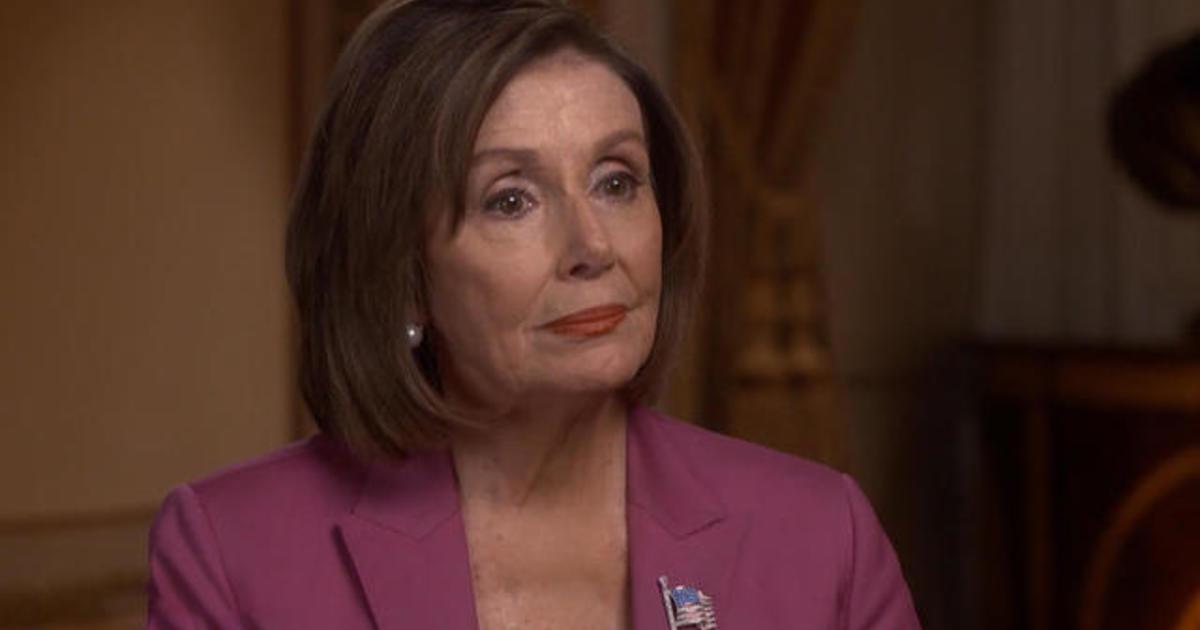 Full interview with House Speaker Nancy Pelosi