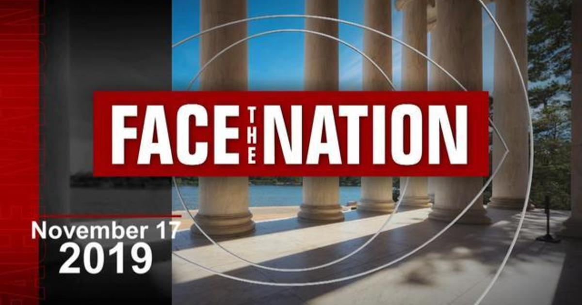 11/17: Face The Nation