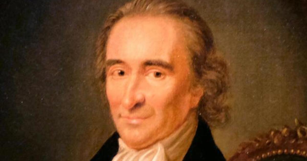 """Mobituaries"": Thomas Paine, the forgotten founding father"