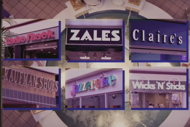 Mall stores that don't exist anymore - CBS News