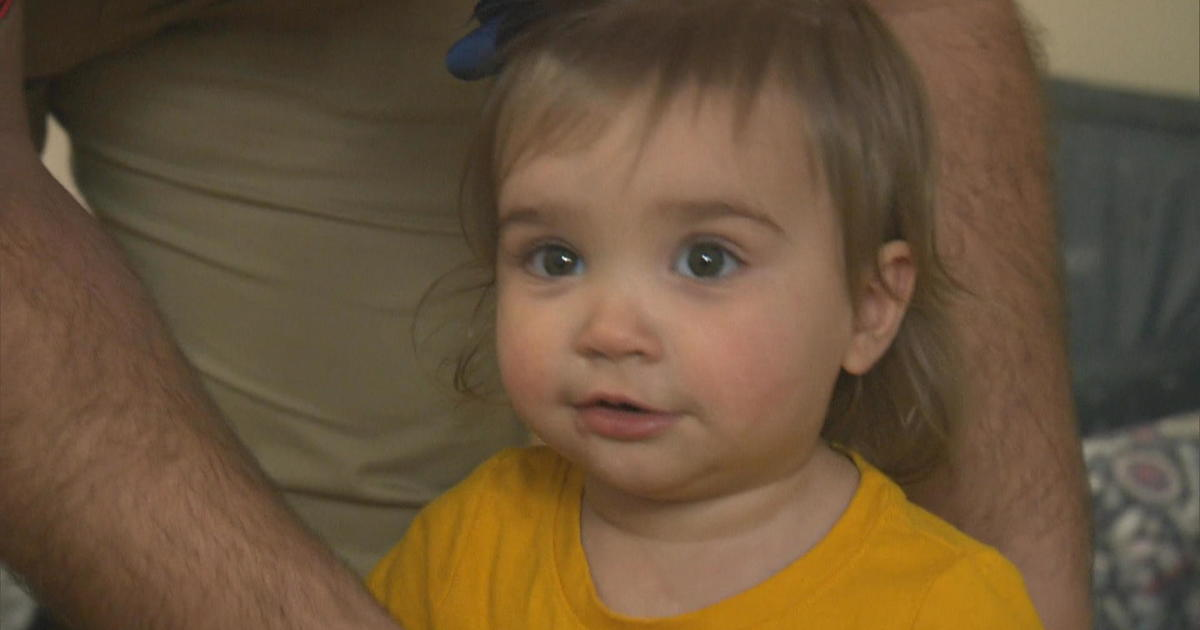 """2 months after baby injured in Texas mass shooting, parents say """"she's back"""""""
