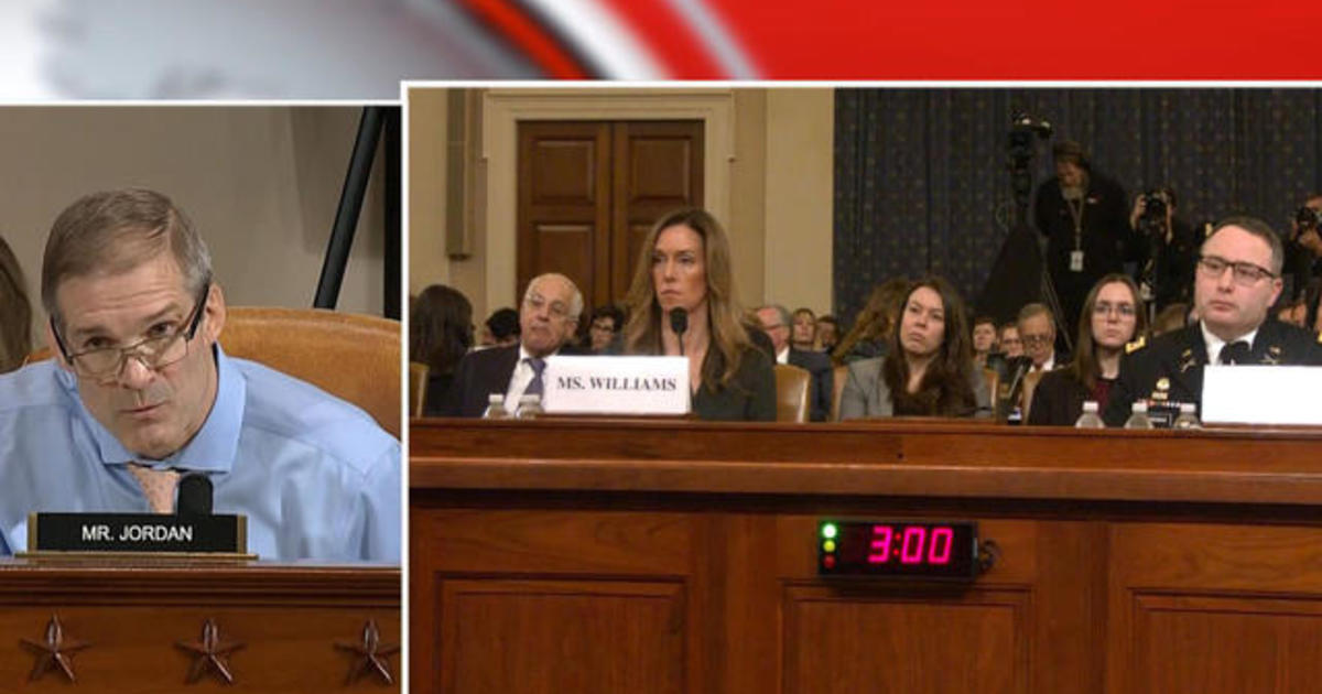 Day 3, Part 7: Committee members' five-minute rounds of questioning Vindman and Williams