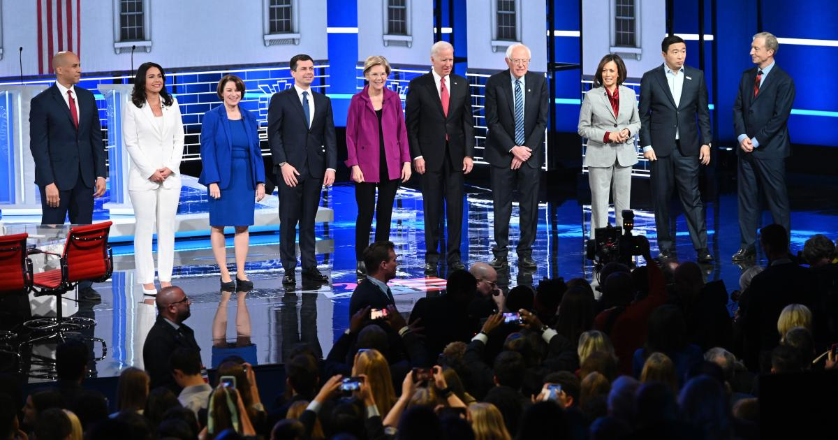 Nine Dem candidates demand DNC toss out current debate rules