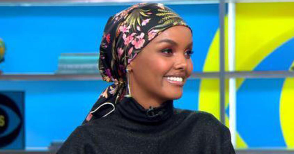 """Refugee film """"I Am You"""" tells """"very important"""" story, model and executive producer Halima Aden says"""