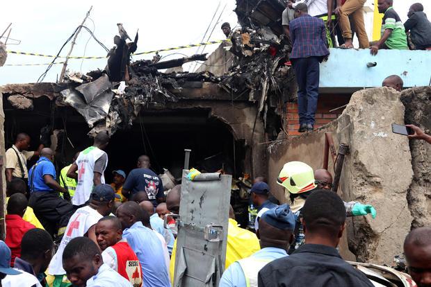 deadly Congo plane crash