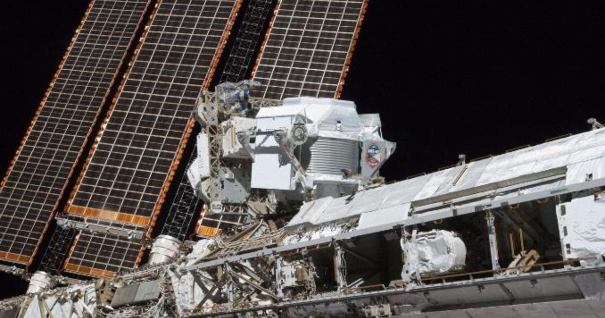 Spacewalk: Astronauts set to replace coolant pumps on $2 billion cosmic ray detector