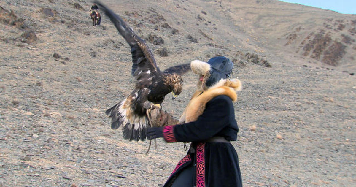 How an Oklahoma woman learned to fly like an eagle in Mongolia