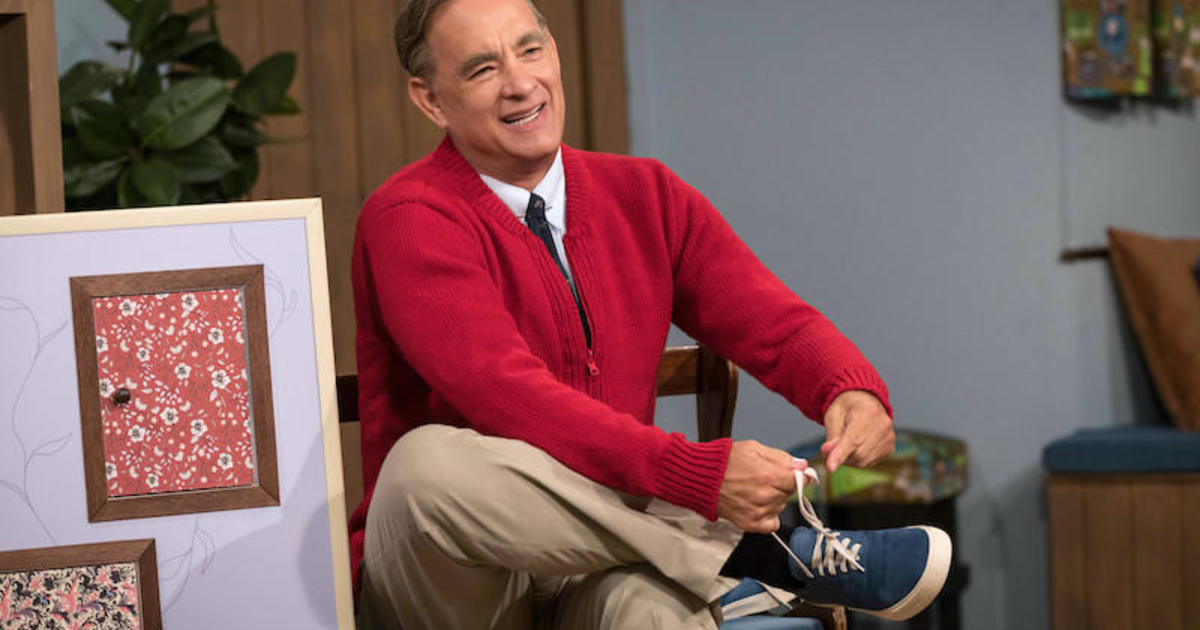 Tom Hanks Posts Subtle Nod To Mr Rogers While In Coronavirus Isolation Cbs News