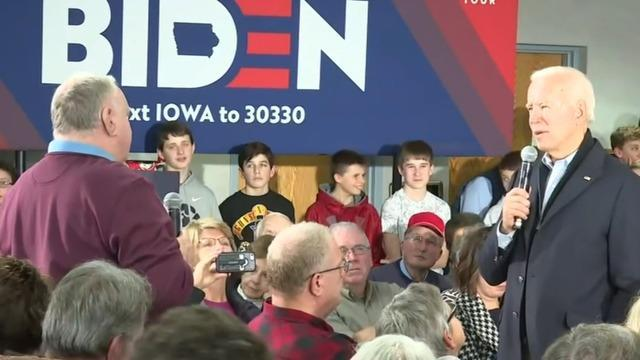 "Presidential Candidate Joe Biden Continues ""No Malarkey"" Bus Tour Through Iowa"