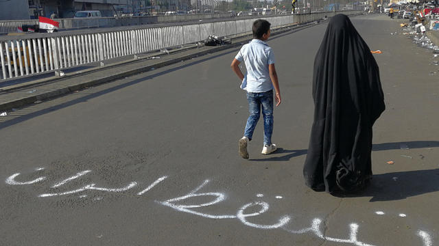 Iraq Protests Anger at Iran