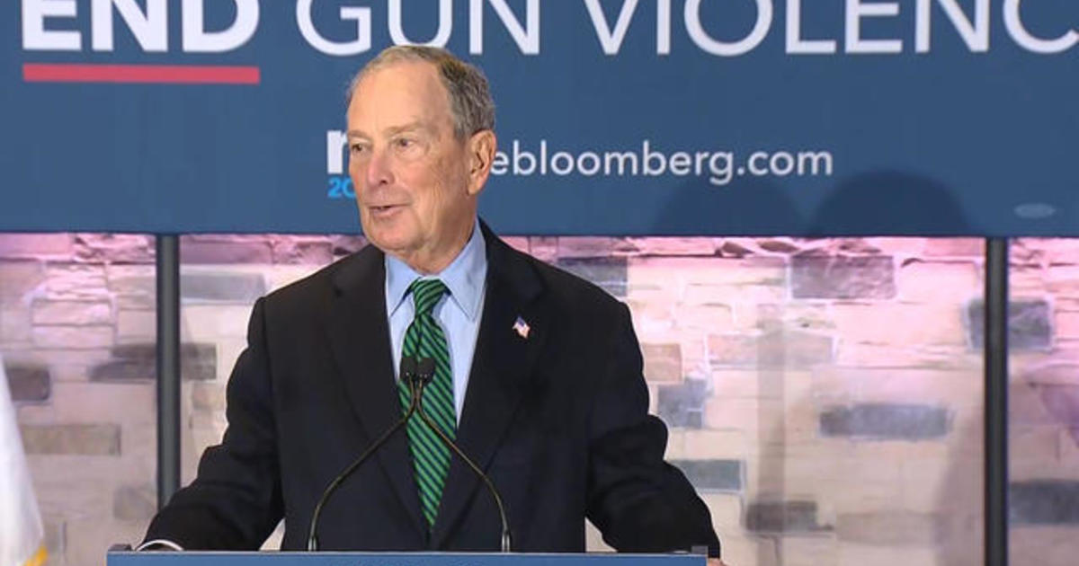 Michael Bloomberg campaign unveils gun control policy