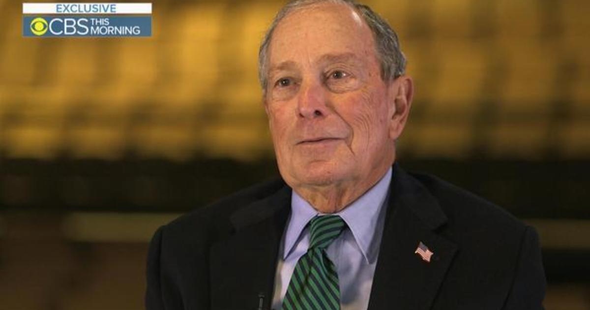 Michael Bloomberg's extended interview with Gayle King