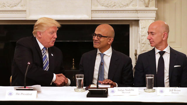 President Trump Hosts American Technology Council Roundtable