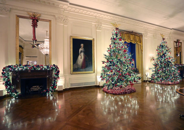 White House Christmas decorations 2019