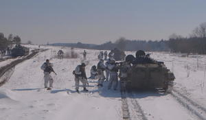 U.S. military aid a matter of survival in Ukraine