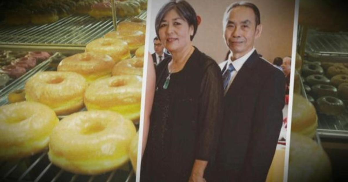 After brain aneurysm, beloved donut shop owner returns to work