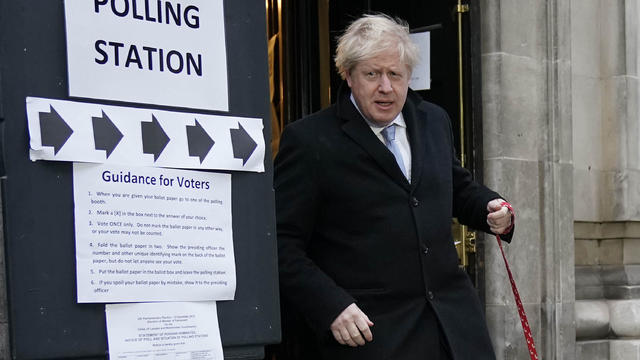 British Political Leaders Cast Their Vote In The UK General Election