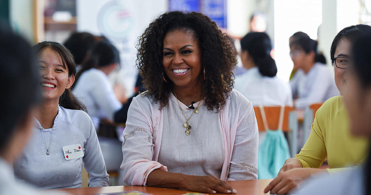 "Michelle Obama tells Greta Thunberg to ""ignore the doubters"" after Trump slams the climate change activist"