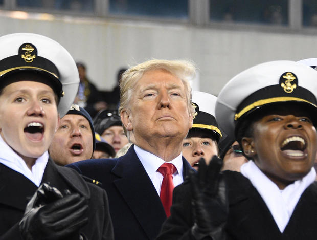 President Trump to attend Army-Navy football game in Philadelphia