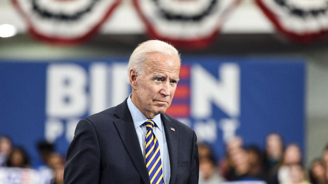 Presidential Candidate Joe Biden Holds A Town Hall At Lander University In South Carolina