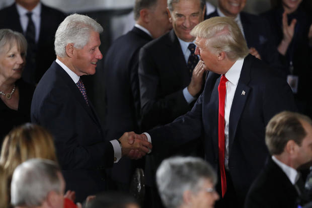 President Donald Trump Attends Inaugural Luncheon
