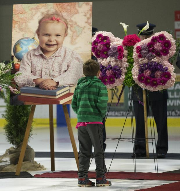 Abby Eveson, 5, died last week