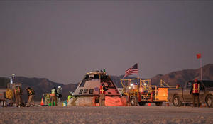 Boeing's Starliner returns to earth after mission is cut short