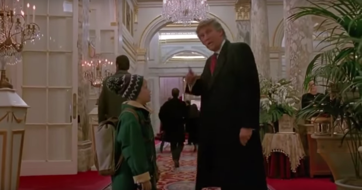 """Home Alone 2"" Donald Trump scene: President responds ..."