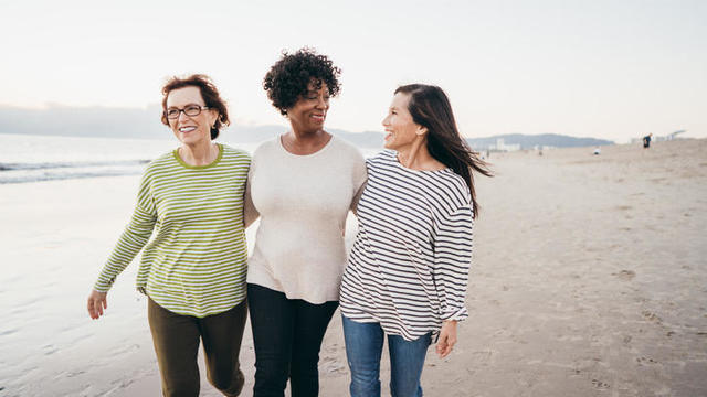 Making new connections on your retirement walks