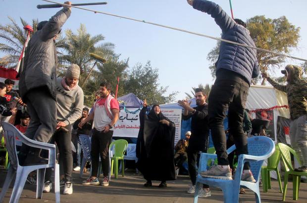 IRAQ-IRAN-POLITICS-UNREST-US