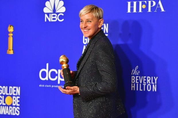Ellen DeGeneres — Golden Globes