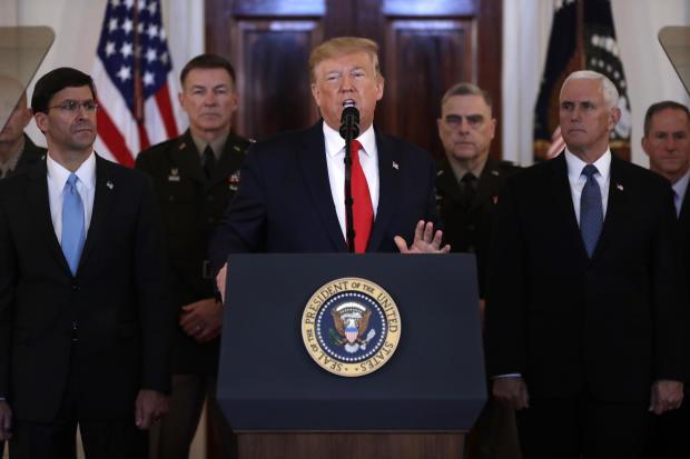 Trump US Iran