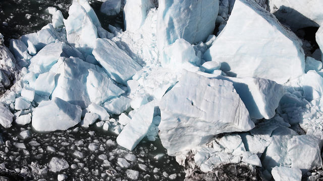 Scientists Study Ice Melt On The Wolverine Glacier In Alaska