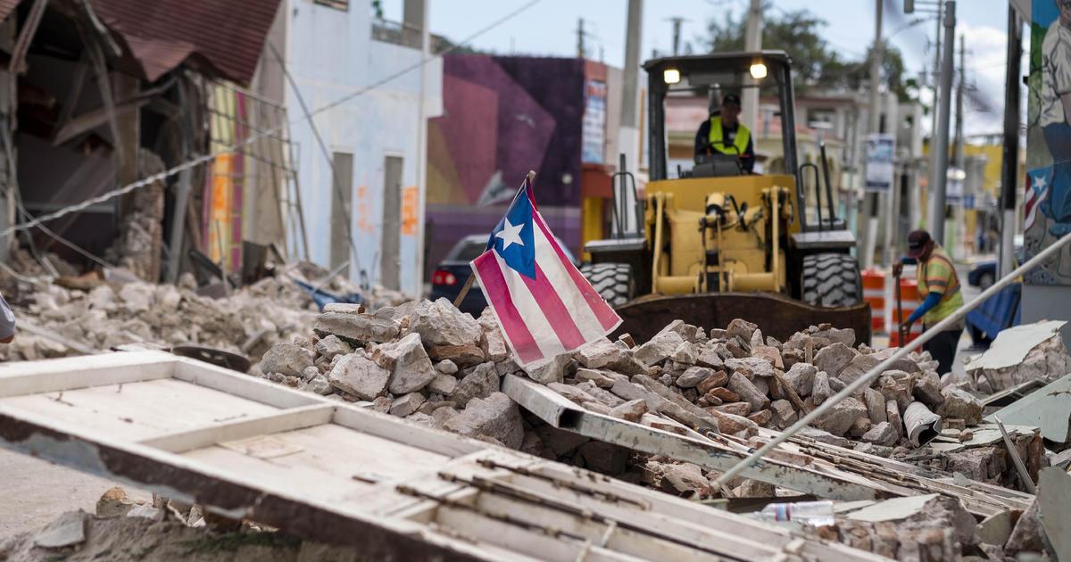 Erdbeben Der Stärke 6.0 Streiks Aus Quake-Fassungslos Puerto Rico