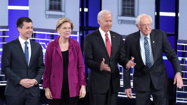 Democratic Presidential Candidates Participate In Debate In Atlanta, Georgia