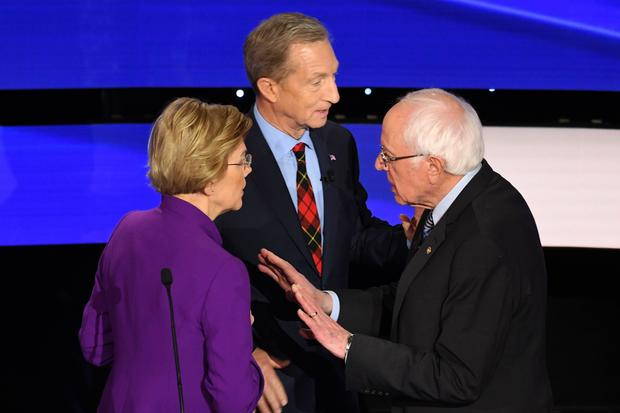 Warren, Sanders, Steyer