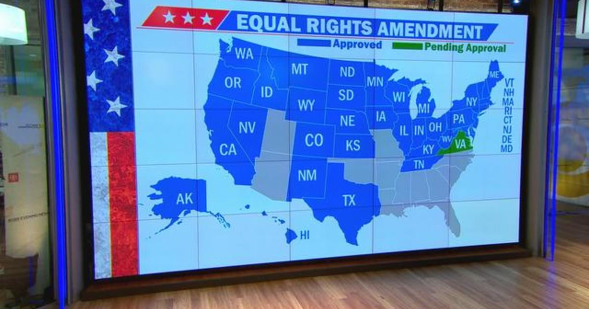 Virginia becomes 38th state to approve Equal Rights Amendment