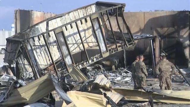 iran missile strikes iraqi military bases