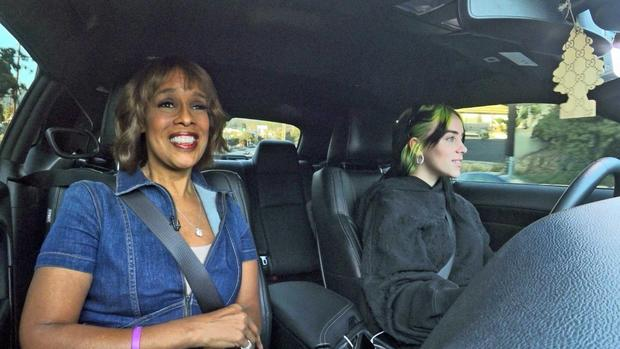 Gayle King drives with Billie Eilish, shops with Blake Shelton and dines with Lizzo in primetime Grammy special
