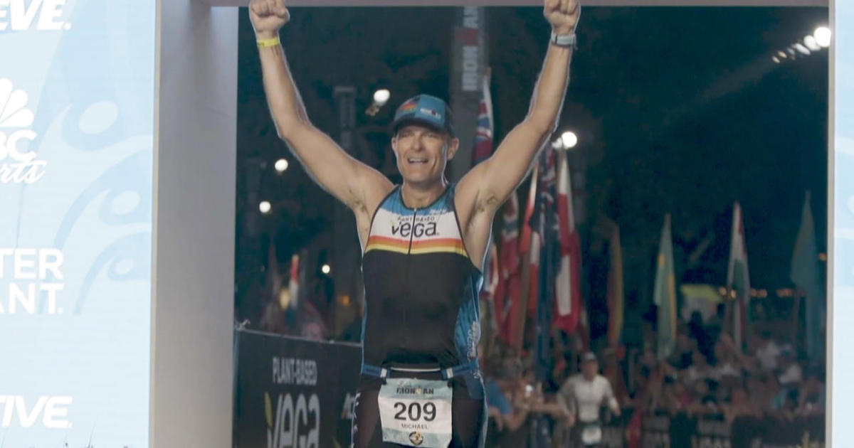 Music exec marks 20 years of sobriety by tackling Ironman Triathlon