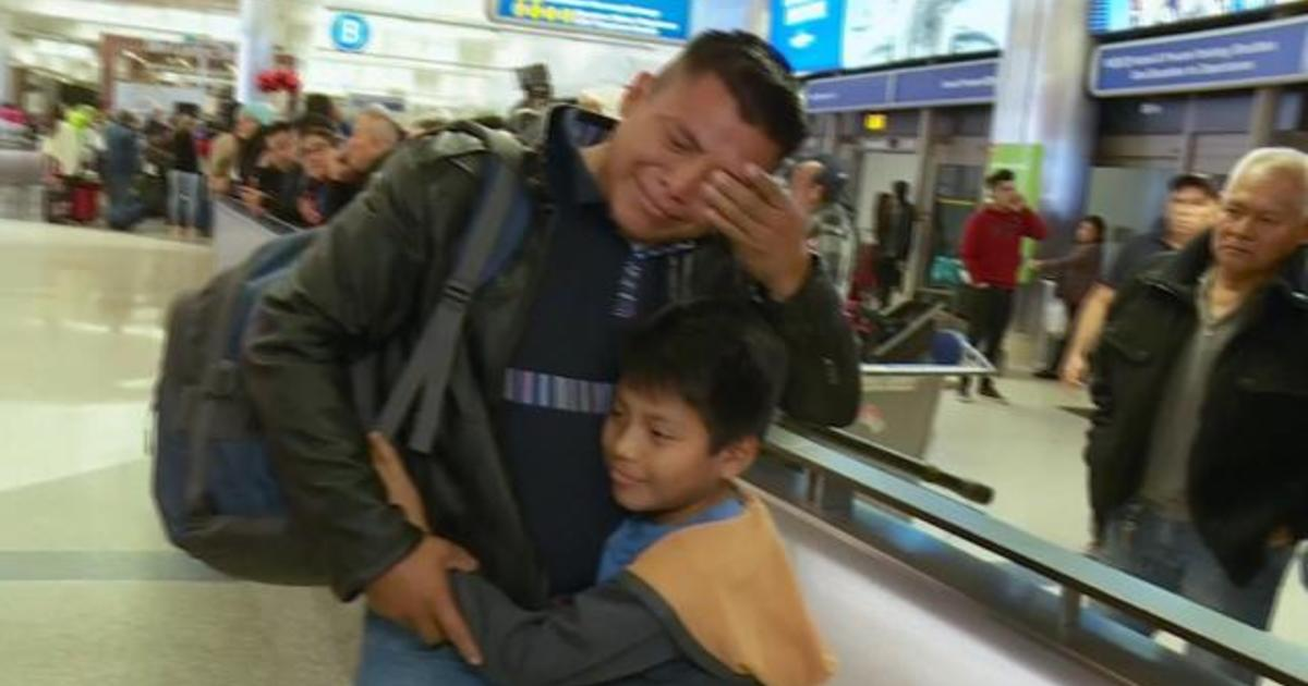Migrant parents deported without their children finally reunite