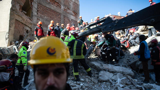 At Least 22 Dead After Earthquake In Eastern Turkey