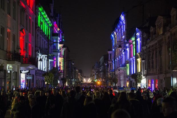 7th Light Move Festival in Lodz