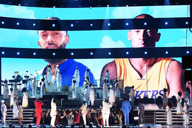 Nipsey Hussle, Kobe Bryant tribute — 2020 Grammy Awards
