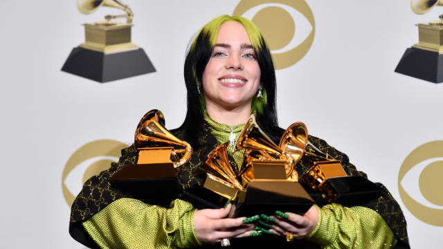Billie Eilish — 2020 Grammy Awards