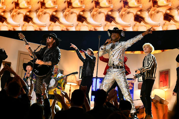 BTS, Billy Ray Cyrus, and Lil Nas X — 2020 Grammy Awards