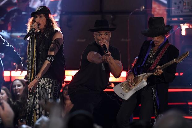Steven Tyler, Run DMC — Grammy Awards 2020