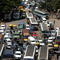 Traffic jams on the hisghway near Bangalore City (USED-IT 27/12/2004)