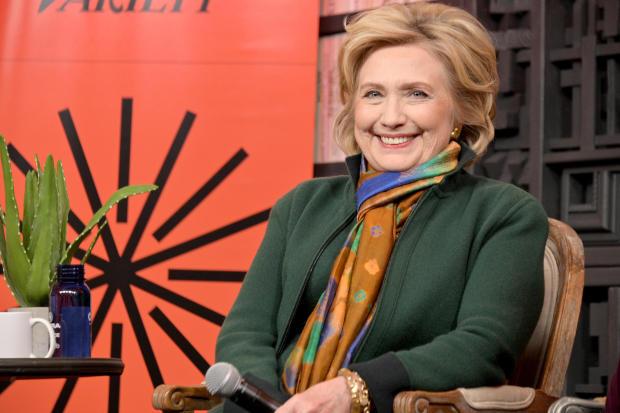 2020 Sundance Film Festival -   Cinema Cafe With Hillary Rodham Clinton And Nanette Burstein