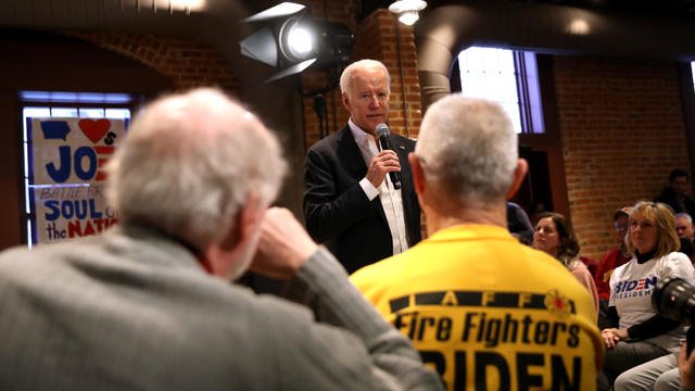 Democratic Presidential Candidate Joe Biden Campaigns In Iowa